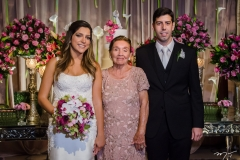Carol Moreira, Dalina Ferreira e Eduardo Romcy