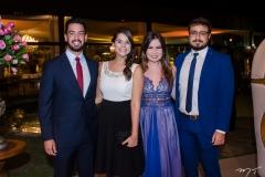 Claudio Gadelha, Renata Iepsen, Sarah Coelho e Felipe Carvalho