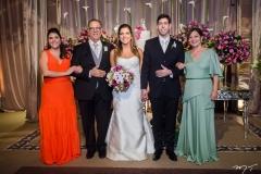 Georgia Romcy, Jorge Romcy, Carol, Eduardo e Graça Romcy