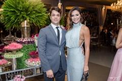 João Romcy e Amanda Monteiro