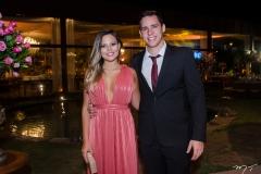 Lívia Almeida e Mateus Gress