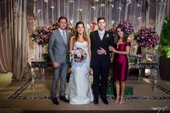 Sergio Bezerra, Carol Moreira, Eduardo Romcy e Alessandra Bezerra