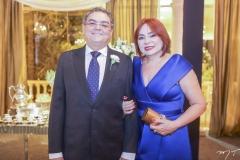 Luis Helder e Cristina Moreno