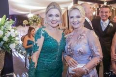 Suely Cidrão e Raquel Castelo