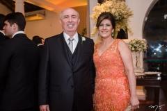 Amarílio e Samia Cavalcante