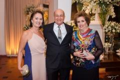 Deise de Assis, Ednardo de Assis e Leda Maria