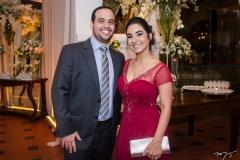 Fabiano Albuquerque e Melina Brasil