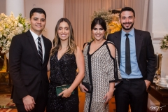 Guilherme da Guarda, Gabriela da Guarda, Barbara Linardi e Tiago Reis