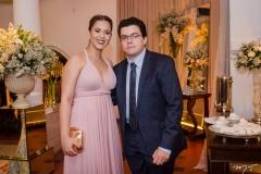 Larissa Marques e Marcos Paulo Fernandes