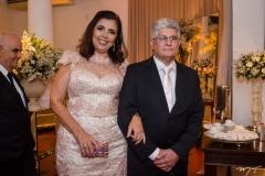 Maria Luoza Viana e Francisco Parente