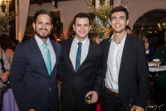 Monteiro Neto, Galileu Ferreia e Felipe Brasil