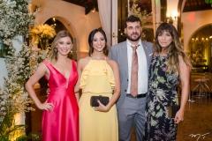 Natalia Burlamaqui, Marina Castelar, Leonardo Reis e Stephanie Amorim
