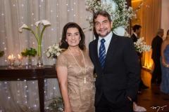Paola Brasil e Leonidas Medeiros