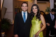Rafael e Camila Alcantara