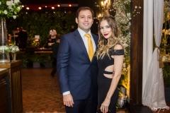 Ricardo Cavacante e Erica Frota