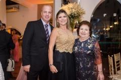 Rodrigo, AnaClaudi Rolin e Delnilha Montenegro