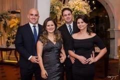 Rodrigo Fiuza, Ana Raquel Fiuza, Fabio e Ana Beatriz Girão