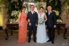 Samia Cavalcante, André, Natasha e Amarílio