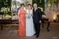 Samia Cavalcante, Natasha e Amarílio Cavalcante (1)