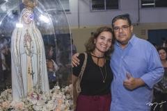 Daniella e Michel Cunha