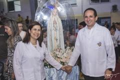 Larissa Rodrigues e Rodrigo Beltrão