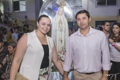 Mariana Sales e Alysson Robério