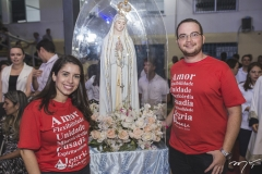 Patrícia Aguiar e Lucas Castelo