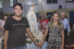 Paulo Henrique Aguiar e Nágila Sampaio