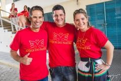 David Rodrigues, André Santana e Patriciana Rodrigues