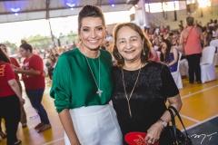 Márcia Travessoni e Graça Dias