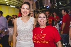 Onélia Santana e Consuelda Azevedo