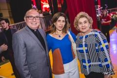 Pe Eugênio, Regina Ximenes e Consuelo Dias Branco