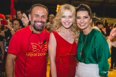 Rai Meireles, Branca Mourão e Márcia Travessoni