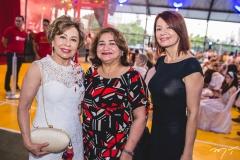 Tane Albuquerque, Maria Vital e Suzana Farias