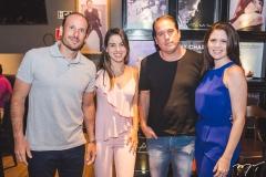 André, Ticiana, Inácio e Bruna Parente