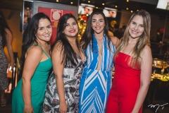 Carol Carvalho, Mariana Lobato, Isabela Marques e Mariana Figueiredo