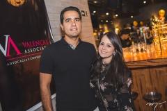 Daniel Cidrão e Marcela Frota