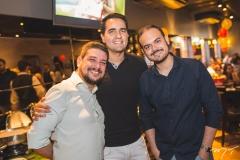 Emanuel Carvalho, Daniel Cidrão e Lucas Lobo