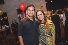 Jarder Figueiredo e Livia Brandão