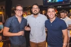 Paulo Clark, Vitor Lima e Natan Teixeira