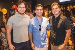 Rafael Gazzineo, Dante Cristino e Nelson Valença