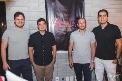 Rafael Gazzineo, Nelson Valença, André Parente e Daniel Cidrão