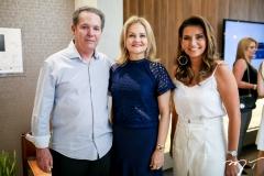 Cláudio e Lenise Rocha e Márcia Travessoni
