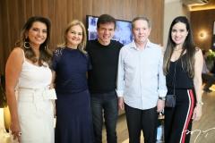 Márcia Travessoni, Lenise Rocha, Waldonys, Cláudio Rocha e Luciana Menezes