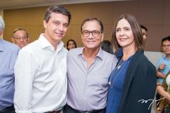 André Siqueira, Beto Studart e Mírian Pereira