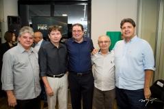 Chico Esteves, Edgar Gadelha, Roberto Macêdo, Alvaro Correia e Marcos Oliveira
