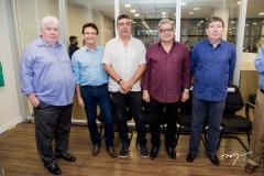 Francisco Guimarães, Francílio Dourado, Ricardo Pereira, Fred Fernandes e Heitor Studart