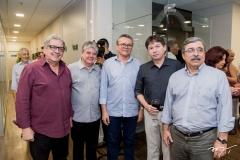 Fred Fernandes, Francisco Esteves e Eulálio Costa, Edgar Gadelha e Roberto Sérgio