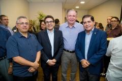 José Wally, Virgílio Araripe, Ricardo Cavalcante e Lairton Gonçalves