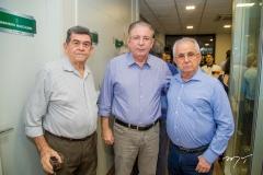 Orlando Siqueira, Ricardo Cavalcante e Lourival Assunção